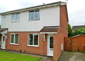 Thumbnail 2 bed semi-detached house to rent in Monteith Place, Castle Donington, Derby