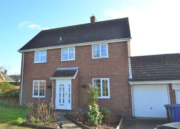 Thumbnail 4 bed detached house for sale in Galley Road, Hundon, Sudbury