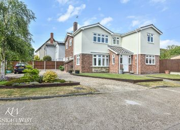 Thumbnail 4 bed detached house for sale in Churchwell Avenue, Easthorpe, Colchester