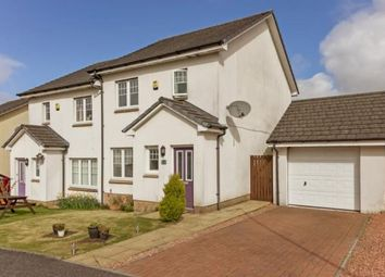 Thumbnail 3 bed semi-detached house for sale in Heatherbank Drive, Gartcosh, Glasgow, North Lanarkshire