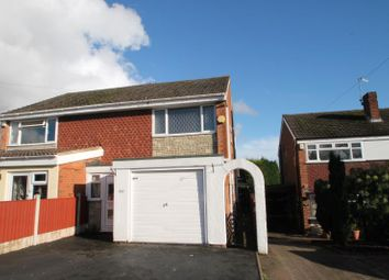 Thumbnail 3 bedroom semi-detached house to rent in Camberley Road, Kingswinford, West Midlands