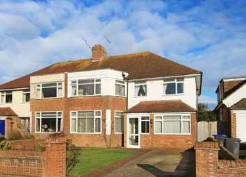 4 bed semi-detached house for sale in Rosebery Avenue, Goring-By-Sea, West Sussex BN12