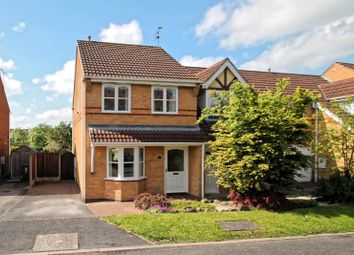 Thumbnail 3 bed semi-detached house to rent in Pulborough Garedens, Littleover, Derby