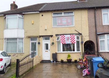 Thumbnail 3 bed terraced house for sale in Willis Close, Whiston, Prescot