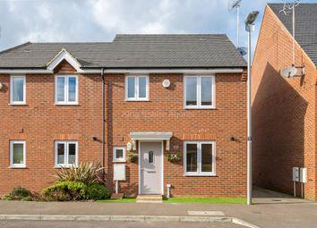 Thumbnail 3 bed semi-detached house for sale in Dewsbury, Oakridge Park, Milton Keynes, Buckinghamshire