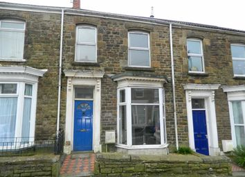 Thumbnail 3 bedroom terraced house for sale in Rhondda Street, Mount Pleasant, Swansea