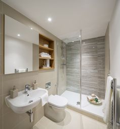 Thumbnail 2 bed flat for sale in Royal Crescent, Stanmore Place, London
