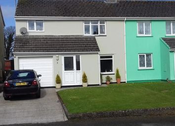 Thumbnail 4 bed semi-detached house for sale in Bartletts Well Road, Sageston, Tenby