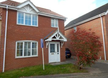 Thumbnail 3 bedroom semi-detached house to rent in Pollywiggle Close, Norwich