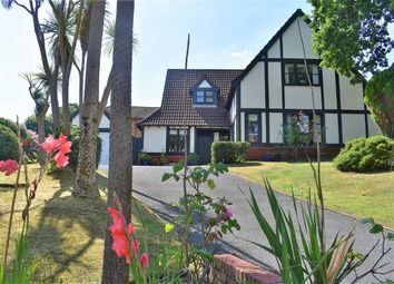 Thumbnail 4 bed detached house for sale in Heneage Drive, West Cross, Swansea