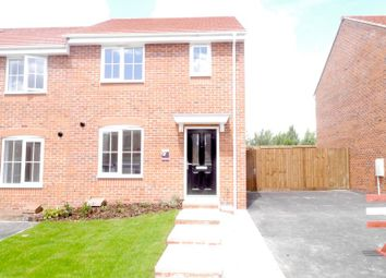 Thumbnail 3 bed semi-detached house to rent in Brownley Road, Clipstone, Mansfield