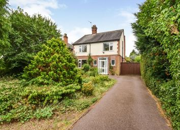 Thumbnail 4 bed detached house for sale in Sibson Road, Birstall, Leicester
