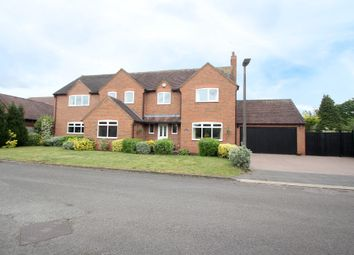 Thumbnail 4 bed detached house for sale in Hawkswood Drive, Balsall Common, Coventry