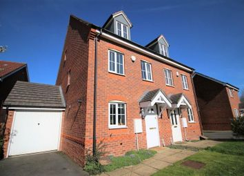 Thumbnail 4 bed semi-detached house for sale in Barnesmeadow Place, Coseley, Bilston