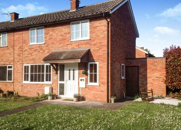 Thumbnail 2 bedroom end terrace house for sale in Parker Road, Wittering, Peterborough