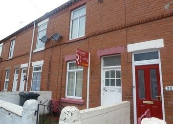Thumbnail 2 bed property to rent in Edward Street, Wrexham