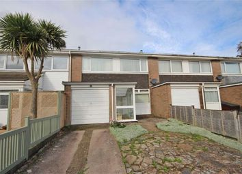 Thumbnail 3 bed terraced house for sale in Pillar Avenue, Furzeham, Brixham