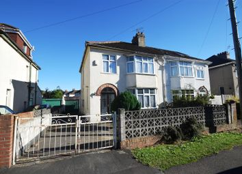 Thumbnail 3 bed semi-detached house for sale in Abbey Road, Westbury-On-Trym, Bristol