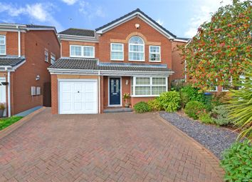 Thumbnail 4 bed detached house for sale in Grimston Close, Binley, Coventry