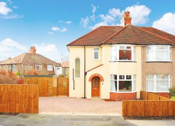 Thumbnail 3 bed semi-detached house for sale in Skipton Crescent, Harrogate