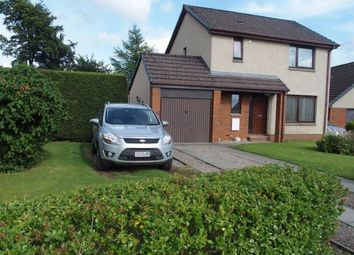 Thumbnail 3 bed detached house for sale in Poplar Avenue, Blairgowrie