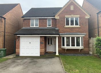 Thumbnail 4 bed detached house to rent in Kingfisher Road, Mansfield