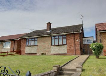 Thumbnail 2 bed detached bungalow for sale in Field Drive, Shirebrook, Mansfield, Nottinghamshire