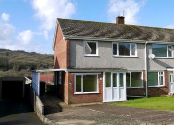 Thumbnail 3 bedroom semi-detached house to rent in Gwerneinon Road, Sketty, Swansea
