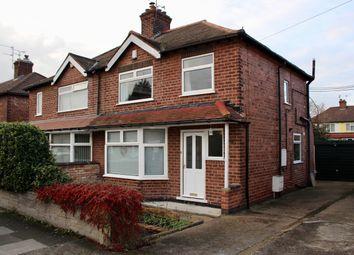Thumbnail 3 bedroom semi-detached house for sale in Georgina Road, Beeston