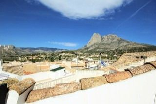 Thumbnail 3 bed town house for sale in Finestrat Village, Finestrat, Alicante, Valencia, Spain
