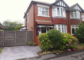 Thumbnail 3 bed semi-detached house for sale in Linden Grove, Stockport