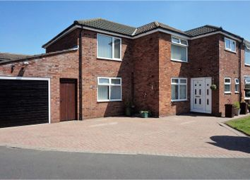 Thumbnail 5 bed semi-detached house for sale in Hallfield Drive, Chester
