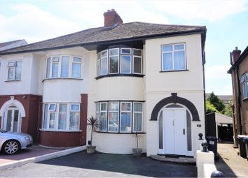 Thumbnail 3 bed semi-detached house for sale in Silkfield Road, Colindale