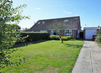 Thumbnail 3 bed semi-detached bungalow for sale in Barton Way, Bracklesham Bay, Chichester