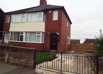 Thumbnail 2 bed semi-detached house to rent in Heathcote Street, Longton, Stoke-On-Trent