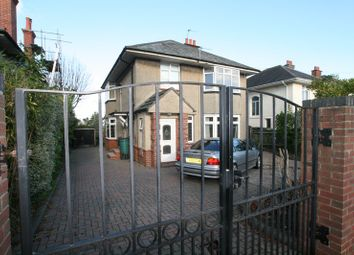 Thumbnail 3 bed flat for sale in Albemarle Road, Winton, Bournemouth