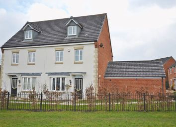 Thumbnail 4 bed semi-detached house for sale in Spacious Modern House, Michaelmas Close, Newport