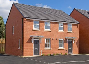 "Thumbnail 2 bedroom end terrace house for sale in ""Winton"" at Beech Croft, Barlby, Selby"