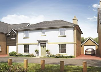 Thumbnail 4 bed detached house for sale in Harvester Close Garden Walk, Royston