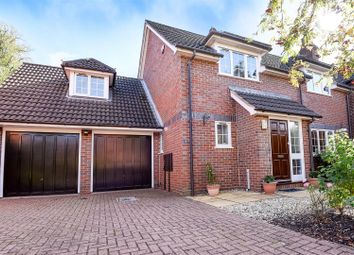 Thumbnail 4 bed detached house for sale in Manor Close, Brampton, Huntingdon