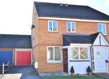Thumbnail 2 bed semi-detached house for sale in Humber Close, Didcot