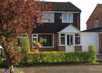 Thumbnail 3 bedroom semi-detached house for sale in Sawley Drive, Cheadle Hulme, Cheadle