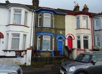 Thumbnail 2 bed terraced house for sale in Windmill Road, Gillingham, Kent.