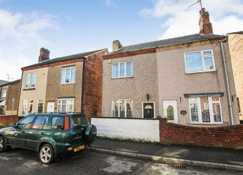 Thumbnail 2 bedroom semi-detached house to rent in Cemetery Road, Leabrooks, Alfreton