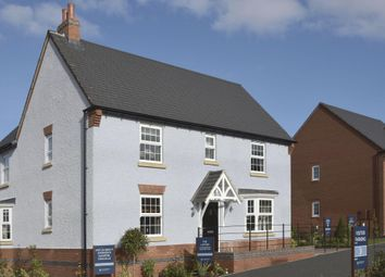 """Thumbnail 4 bed detached house for sale in """"Layton"""" at Albert Hall Place, Coalville"""
