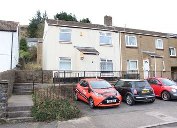 Thumbnail 2 bed semi-detached house to rent in Library Road, Pentre