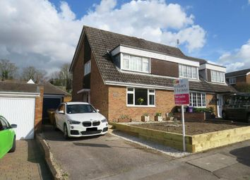 Thumbnail 3 bed semi-detached house for sale in Valley Rise, Royston