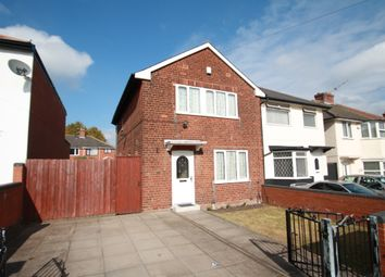 Thumbnail 3 bed semi-detached house to rent in Grafton Road, Birmingham