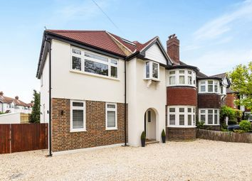 Thumbnail 5 bedroom semi-detached house for sale in West Barnes Lane, New Malden