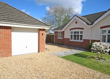 Thumbnail 3 bed semi-detached bungalow for sale in The Hedges, Ashley, New Milton